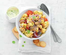 Salade de pâtes aux coques