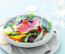 Salade de rouget
