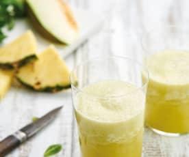 Sumo de melão e abacaxi