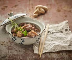 Poitrine de porc à la sauce de soja