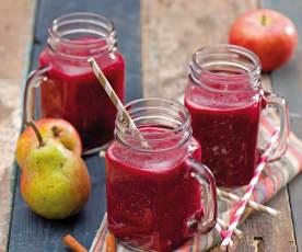 Shake z pieczonego buraka i owoców