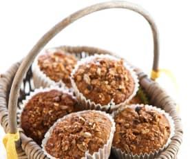 Chocolate Granola Muffins