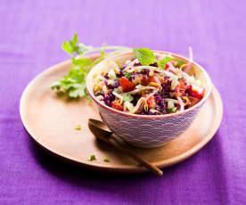 Salade de crudités à la thaïe