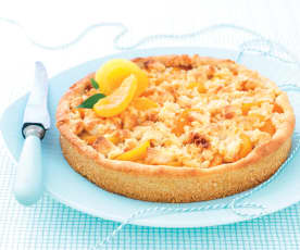 Tarte crumble aux abricots