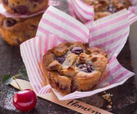 Kirsch-Marzipan-Muffins