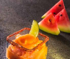 Margarita de sandía y mango