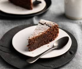 Flourless Chocolate and Nut Torte (gluten free)