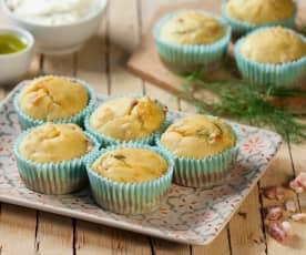 Muffin al finocchietto selvatico e topinambur