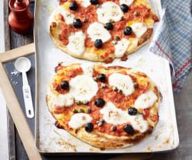 Pizza auf römische Art