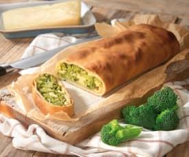 Strudel di broccoletti