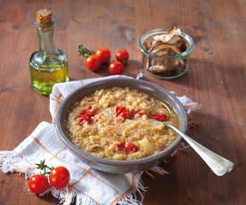 Zuppa di quinoa (senza glutine)