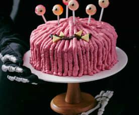Zottel-Monster-Torte