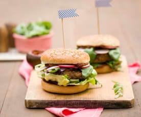 Burger grzybowo-jaglany