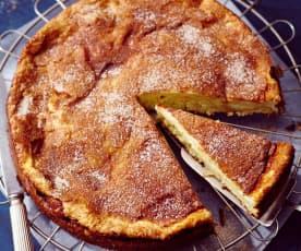 Quark-Hefe-Kuchen