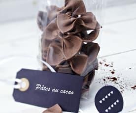 Pâtes au cacao