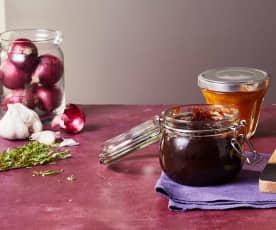 Zwiebel-Balsamico-Chutney
