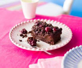 Gâteau un peu forêt noire