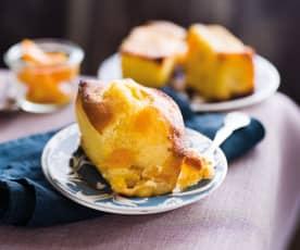 Mini-cakes pêche-abricot