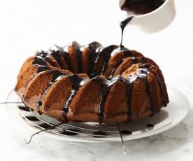 Glaçage au chocolat noir