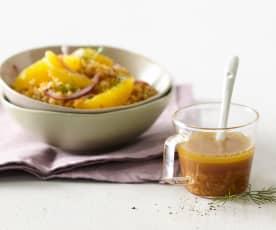 Sauce orange-citron