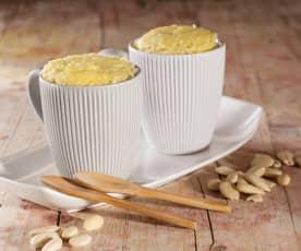 Mug cake au citron et aux amandes