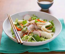 Insalata di calamari vietnamita (Goi muc)