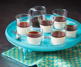Gelatine di soia al caffè