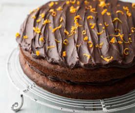 Chocolate Jaffa Cake (gluten free)