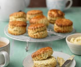Clementine and Poppy Seed Buttermilk Scones