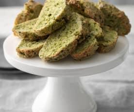 Grünkohl-Biscotti