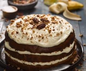 Pekanový dort