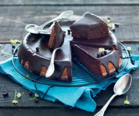 Gâteau de courgette au chocolat