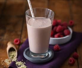Hanf-Himbeer-Drink (vegan)