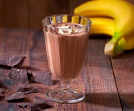 Frullato cioccolato e banana