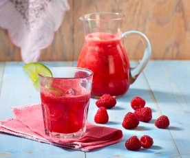 Bevanda lamponi e lime