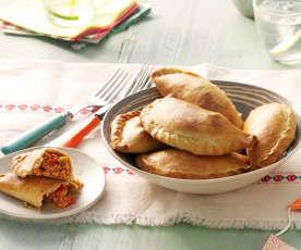 Argentinische Empanadas mit Huhn