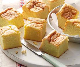 Tortino di formaggio, cipolla e mais (Sopa Paraguaya)