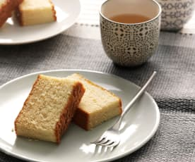 Kasutera (Castella, japanischer Honigkuchen)