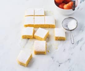 Quadrados de tangerina