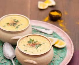 Zupa krem z soczewicy z kurkumą