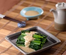 日式胡麻菠菜
