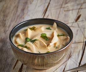 Thai Coconut Lemongrass Chicken Soup