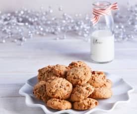 Maple Bacon Toffee Cookies