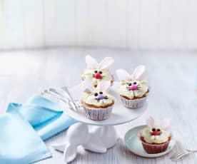 Mrkvové muffiny králíčci