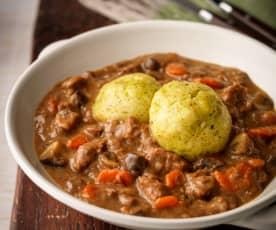 Beef, Ale and Dumpling Stew
