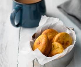 Muffinki marchewkowo-jabłkowe z nasionami chia
