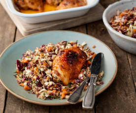 Sweet Chilli Chicken with Slaw
