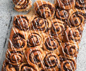 Sultana and Cranberry Rolls