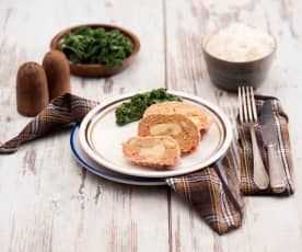 Rolada mięsna z serem żółtym i boczkiem na Varomie