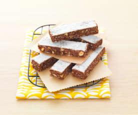 Barres chocolat-banane